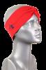 Turbanová čelenka Rýbrcoul - červená