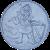 PERMONÍK - Kruhová předložka ø 80 cm, šedá